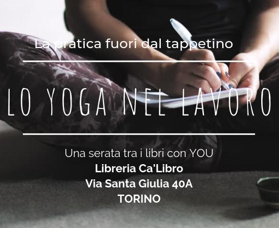 Lo yoga in co-working e in libreria
