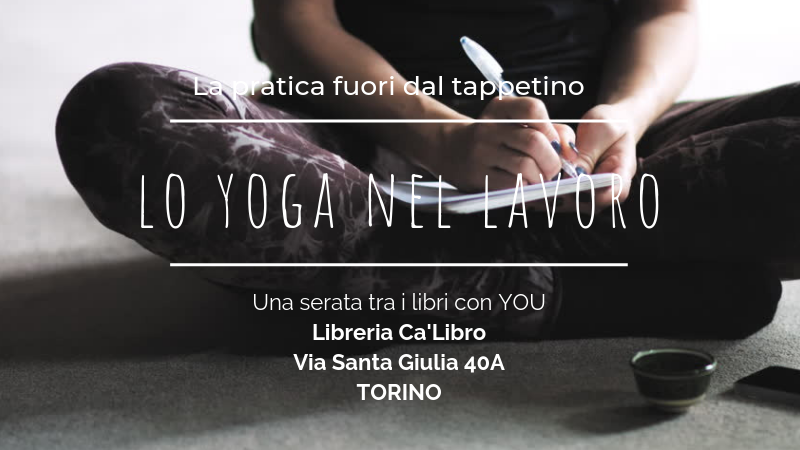 Lo yoga in co-working e in libreria