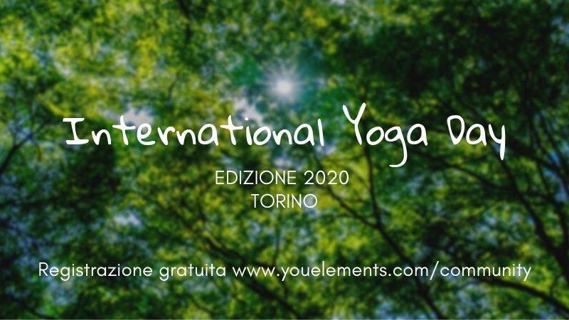 torino international yoga day 2020