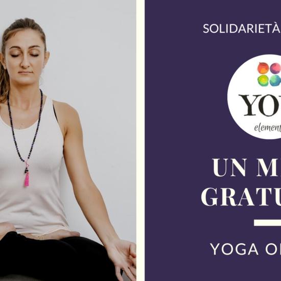 yoga online solidarietà digitale coronavirus
