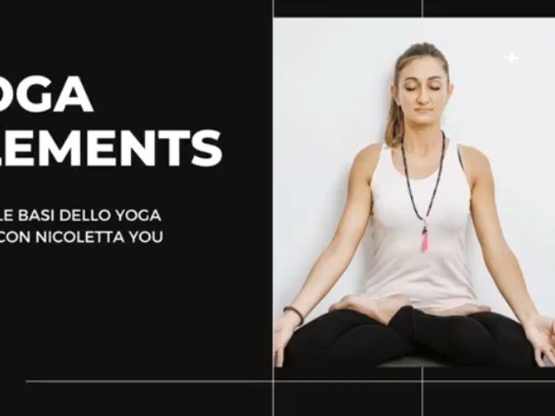 video corso online yoga base