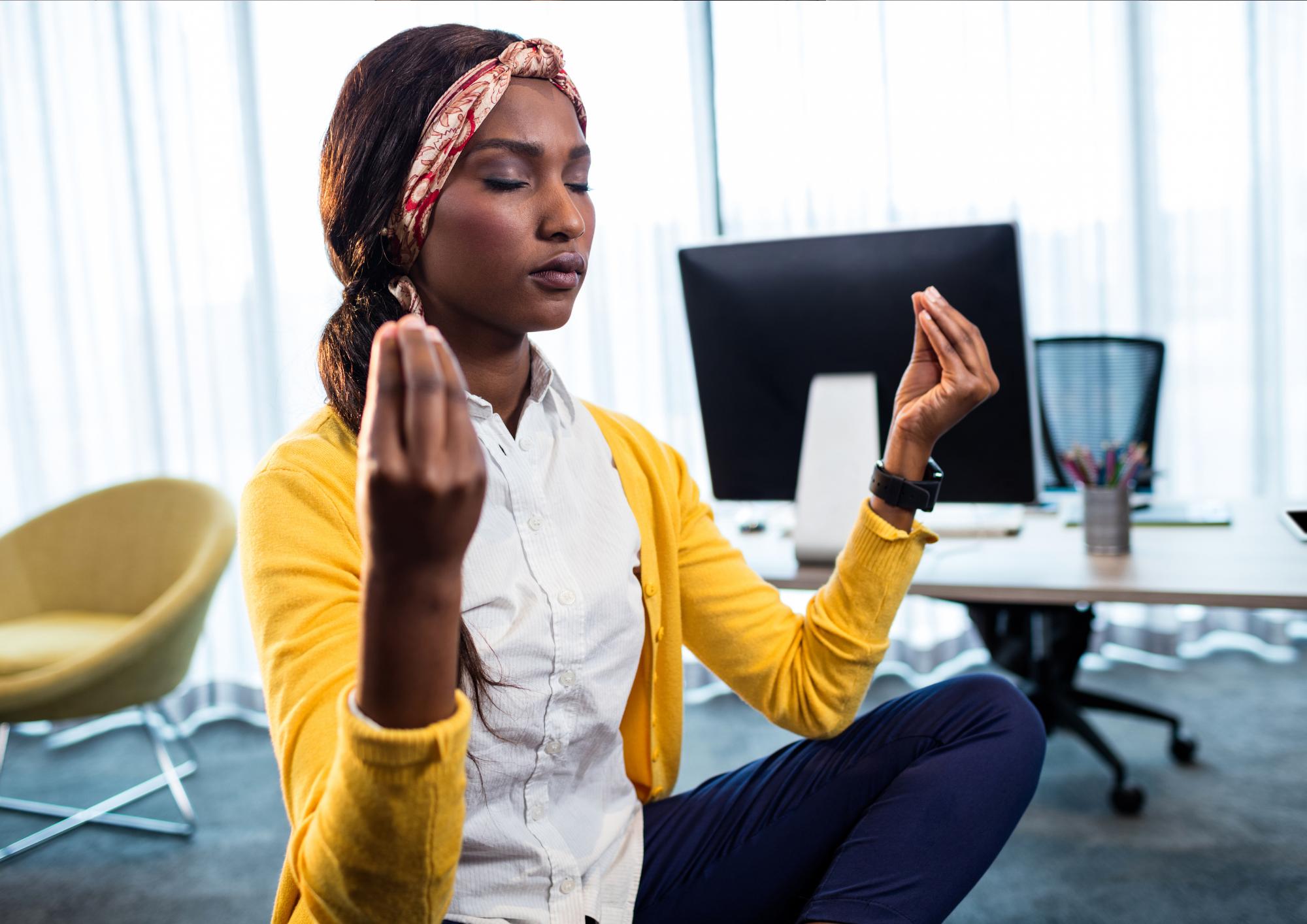 yoga gestire stress